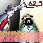 Пенсионный возраст в России с 2016 года для женщин