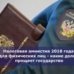 Налоговая амнистия 2018 года для физических лиц — какие долги прощает государство