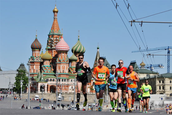 Московский марафон 2018 года