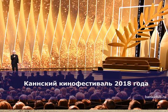 Каннский кинофестиваль 2018 года стартует сегодня