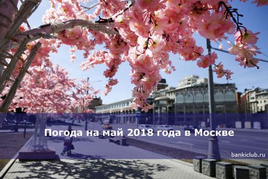 Погода на май 2020 года в Москве