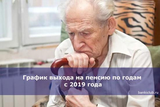 График выхода на пенсию по годам с 2020 года