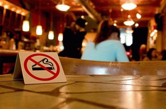 Штраф за курение в общественных местах в 2018 году