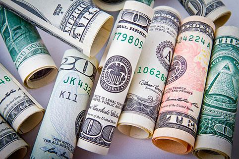 Накопления в долларах США