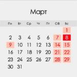 Выходные дни в марте 2020: как отдыхаем