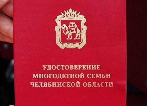 Льготы многодетным семьям в 2017 году в Челябинской области