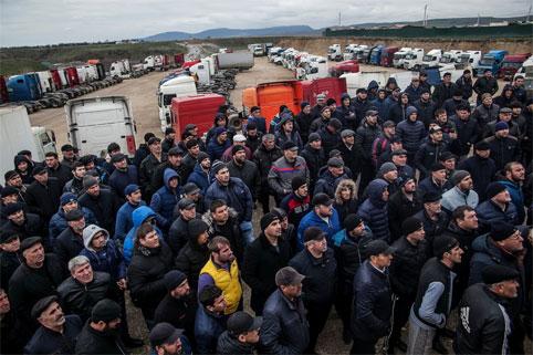 Забастовка дальнобойщиков в 2017 году: итоги первых двух недель